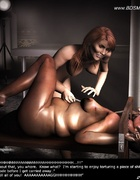 Submission art. Slaves captured their Mistress and…