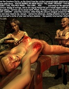 Submission comics. Countess hurts poor girl's nipples!
