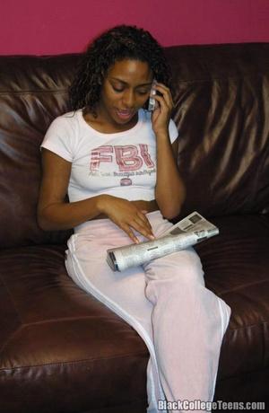 Black Ebony Teens Enter To 111