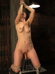 Grown woman trying on sex machine for her - Unique Bondage - Pic 13