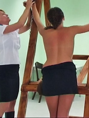 The teacher orders Daniela to lower her - Unique Bondage - Pic 13