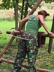 Eva disappoints her superior and receives a - Unique Bondage - Pic 4