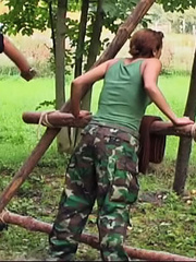 Eva disappoints her superior and receives a - Unique Bondage - Pic 8