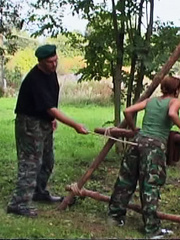 Eva disappoints her superior and receives a - Unique Bondage - Pic 15