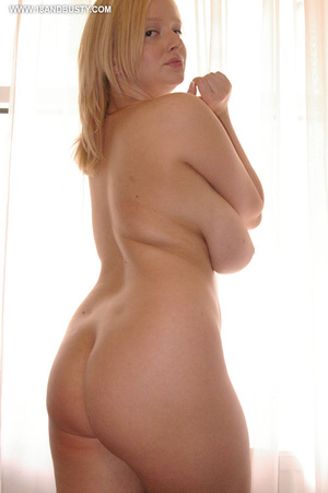 Beautiful breasts. Cute and naive young  - XXX Dessert - Picture 14