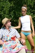 Old young sex. Brunette teenage cutie loves an old…