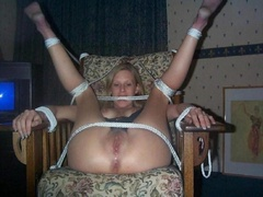Amateur enslaved girlfriends get fucked hard - Unique Bondage - Pic 6