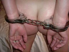 Poor handcuffed amateur girls submitting to - Unique Bondage - Pic 4