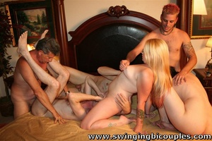 Real swingers' party with a lot of snatches, dicks and hot cum - XXXonXXX - Pic 6