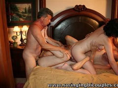 Real swingers' party with a lot of snatches, dicks - XXXonXXX - Pic 13