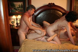 Real swingers' party with a lot of snatches, dicks and hot cum - XXXonXXX - Pic 13