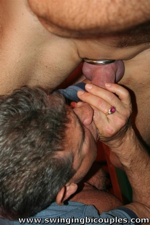 Bisexual dudes love to fuck young sweet chicks and each other - XXXonXXX - Pic 14