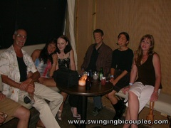 People arranged a swinger party with a lot of cum, - XXXonXXX - Pic 1
