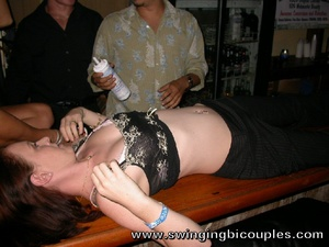 People arranged a swinger party with a lot of cum, cock sucking and fucking from common boring party - XXXonXXX - Pic 7