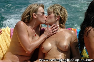 Watch hot pictures of mature bisexual swinger party on the yacht board - XXXonXXX - Pic 15
