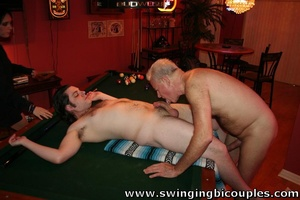 He dreamt about licking his friend's balls when his cock is in girls snatch - Picture 5