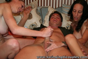 Lucky man fucks his wife and his neighbor's slutty daughter - XXXonXXX - Pic 13