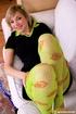 Fantastic teen nymph pulls down her green fishnet…