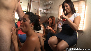 Cock hungry cfnm party chicks willingly  - XXX Dessert - Picture 8