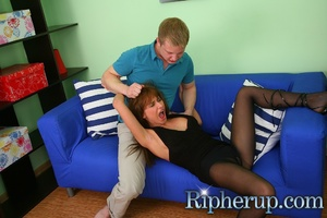 Guy gets horny when his girlfriend plays - XXX Dessert - Picture 4