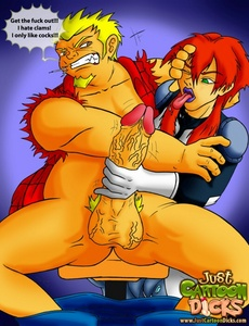 I see one red-haired porno gay monster - Cartoon Sex - Picture 3