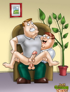 What's better: dildo or powerful Gay - Cartoon Sex - Picture 1