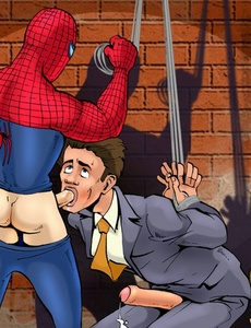 Spiderman is on a hellbender within his - Cartoon Sex - Picture 2
