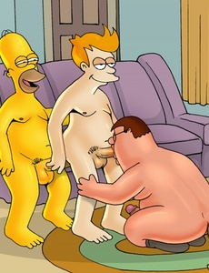 I wonder why gay sex fuckers prefer doggy - Cartoon Sex - Picture 1