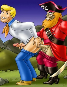 Monsters and pirates adore Gay Sex hot - Cartoon Sex - Picture 1