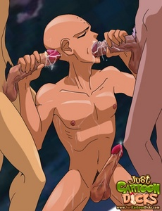 Underming one another in the harshest gay - Cartoon Sex - Picture 2