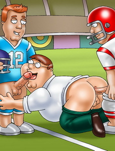 Playing gay anal games whenever and wherever - Cartoon Sex - Picture 2
