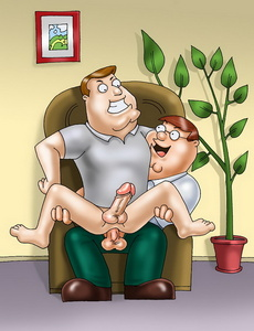 Playing gay anal games whenever and wherever - Cartoon Sex - Picture 3