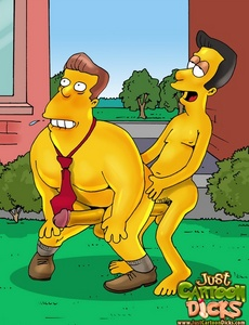 Some Simpsons old farts feel good enough to - Cartoon Sex - Picture 3