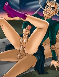 Old and young gay anal lovers look so cute - Cartoon Sex - Picture 3