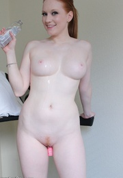 Beautiful redhead hoochie can't - Sexy Women in Lingerie - Picture 12