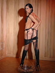 What you did was hot liquid girls pissing in - Unique Bondage - Pic 8