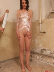 Damn, he screwed me and made drink all men - Unique Bondage - Pic 4