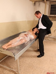 Damn, he screwed me and made drink all men - Unique Bondage - Pic 5