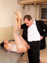 Damn, he screwed me and made drink all men - Unique Bondage - Pic 6