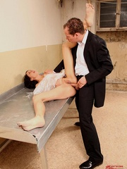 Damn, he screwed me and made drink all men - Unique Bondage - Pic 7