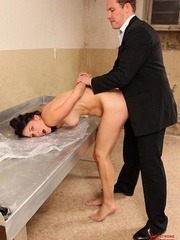 Damn, he screwed me and made drink all men - Unique Bondage - Pic 8