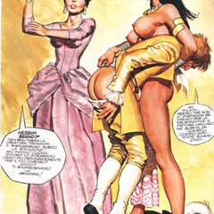Sexy shaped adult comics toon hotties - BDSM Art Collection - Pic 2