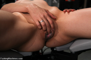 Sexmachine. Amateur machine fucked, drip - XXX Dessert - Picture 2