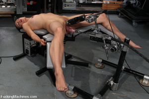 Sexmachine. Amateur machine fucked, drip - XXX Dessert - Picture 3