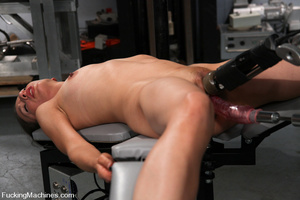 Sexmachine. Amateur machine fucked, drip - XXX Dessert - Picture 7