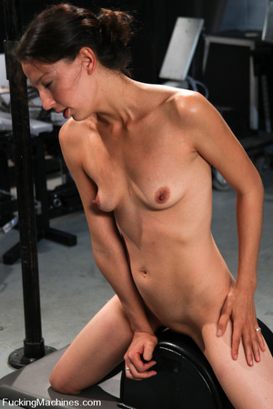 Sexmachine. Amateur machine fucked, drip - XXX Dessert - Picture 14