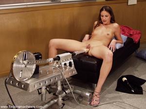 Sex machine orgasms. Hottie gets naughty - XXX Dessert - Picture 3