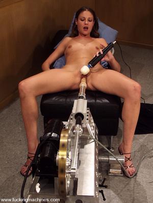 Sex machine orgasms. Hottie gets naughty - XXX Dessert - Picture 4