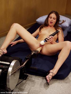 Sex machine orgasms. Hottie gets naughty - XXX Dessert - Picture 11