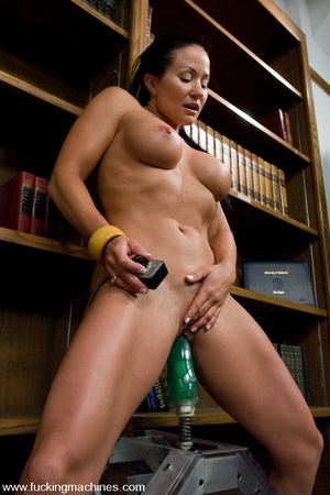 Sexmachines. MILF gets machine nailed in - XXX Dessert - Picture 8
